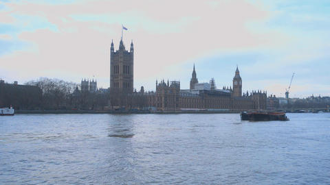 The Houses of Parliament London Live Action