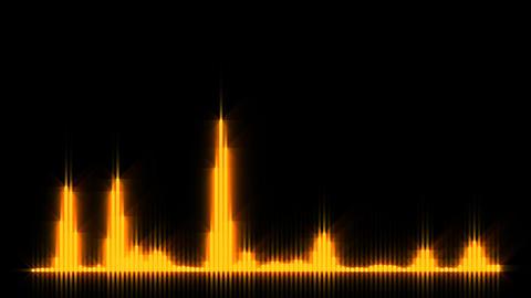 HD wave form 01 動画素材, ムービー映像素材