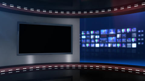 Headlines background blue Footage