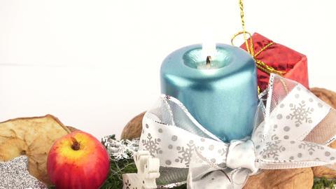 Christmas decoration on the white background Image