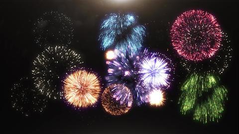 [alt video] 3D animation of fireworks