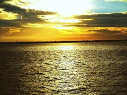 Atardecer en la Bahía de Guajará Photo