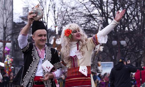 Kuker festival Pernik, Bulgaria Photo