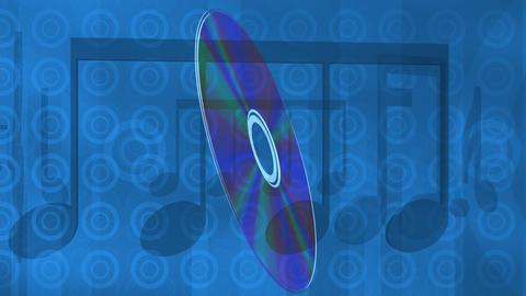 Blue music cd Live Action
