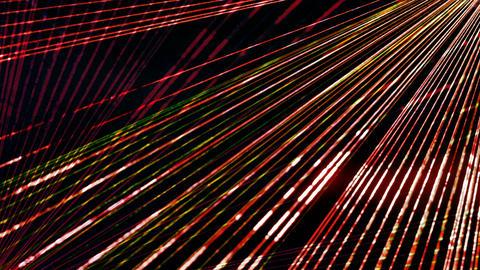 Laser light art Footage