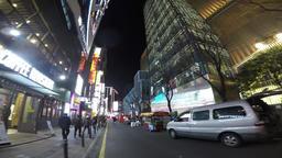 Night View of Seomyeon, Busan, South Korea, Asia Archivo