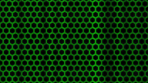 Hexagon Background Stock Video Footage