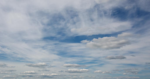 Beautiful cloudscape timelapse Footage