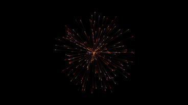 Firework flower explode particles red After Effectsテンプレート