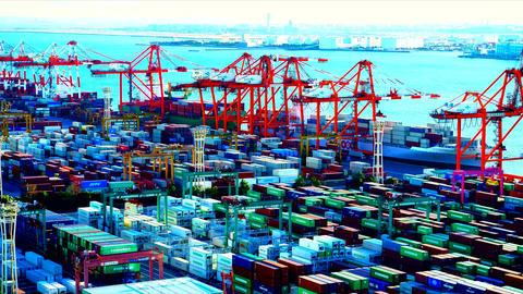 Aomi Container Terminal Tokyo bay #1 ライブ動画