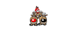 Santa's Sleigh CG動画