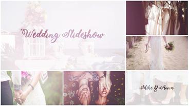 Wedding Slideshow After Effectsテンプレート