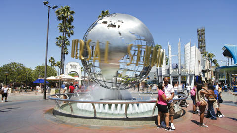 Universal studios hollywood los angeles california usa north america time laps Live Action