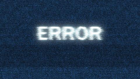Error screen blinking Animation