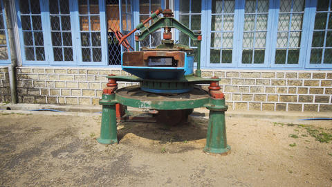 Antique Equipment on Display at Sri Lankan Tea Factory Live Action