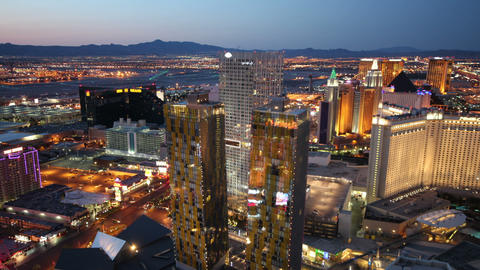 Night to day las vegas time lapse Live Action