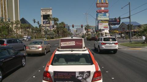 Las vegas traffic to casinos Footage