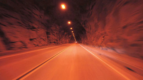 Speeding through tunnel Footage
