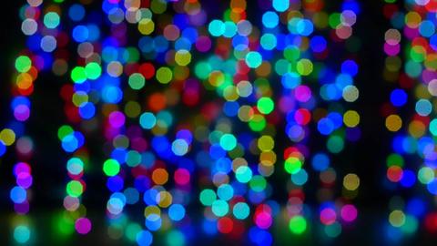 christmas lights blur bokeh background Filmmaterial