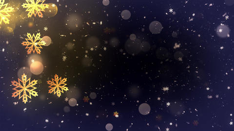 Winter Bokeh Background 1