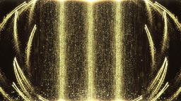 Particle waterfall Stage background Animation