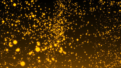 Luxurious gold sparkling particles wave background Live Action