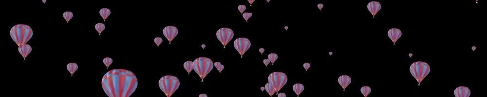 Floating ballon Horizontal folder - 2