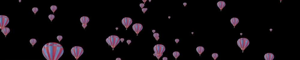 Floating ballon Horizontal folder - 3