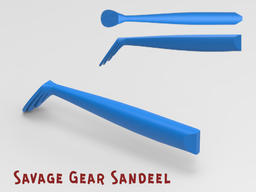 Savage Gear sandeelV 3Dモデル
