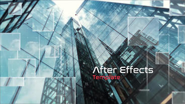 Futuristic Slideshow After Effects Template