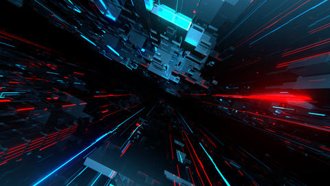 VJ Techno Space Animation