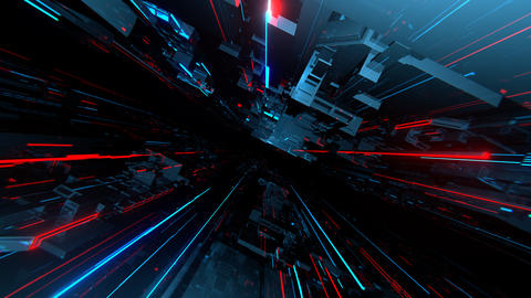 VJ Techno Space 動画素材, ムービー映像素材