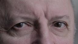 man's face close up Footage