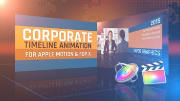 Timeline Animation for Apple Motion and Final Cut Pro X Apple Motion Template