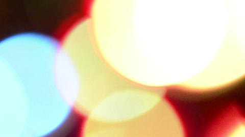 Colored Bokeh Animation