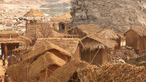 Rural area at Rajasthan India Live Action