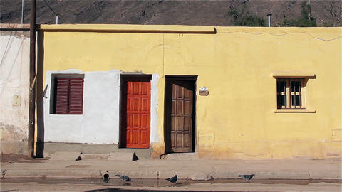 House with pigeons in Purmamarca, Puna Argentina Image