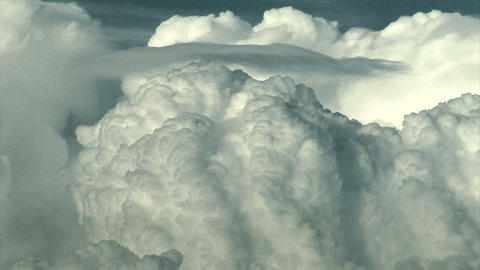 Giant clouds billow into the sky Live Action