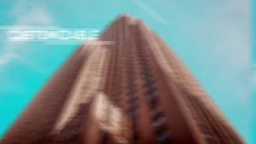 Fight Glitch Opener After Effects Template