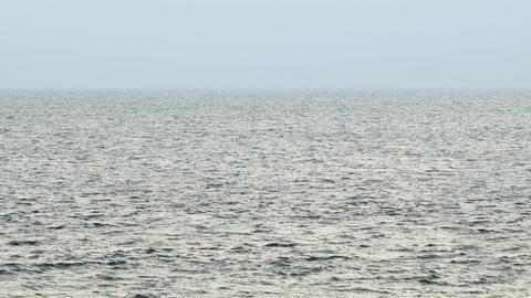 Choppy Sea Surface off Hikkaduwa. Sri Lanka Footage