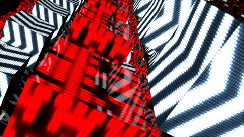Looped seamless light abstract for event, concert, presentation, music videos, Animation