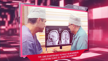 Clean Medical After Effects Templates