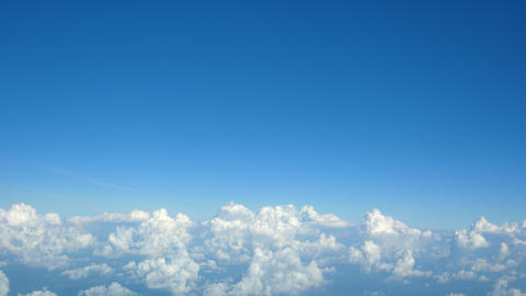 Field of clouds - view from a height of nine thousand meters Bild