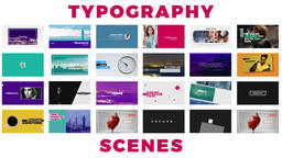 Typography Premiere Pro Template