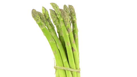 Fresh green asparagus Stock Video Footage