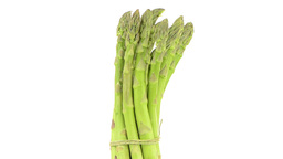 Fresh green asparagus Footage