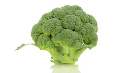 Broccoli or calabrese head Stock Video Footage