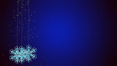 snowflake 2 Stock Video Footage