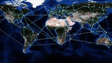 Global Network Animation stock footage