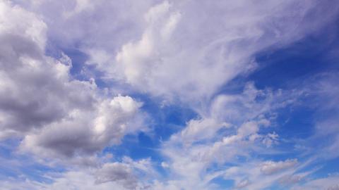 Sky Cloud 110916 B 2 HD Stock Video Footage